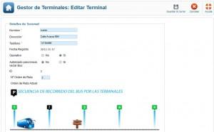 editar terminal